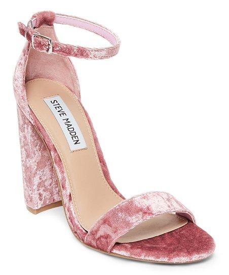 3775e3c60e2b love this product Pink Velvet Carrson Sandal - Women