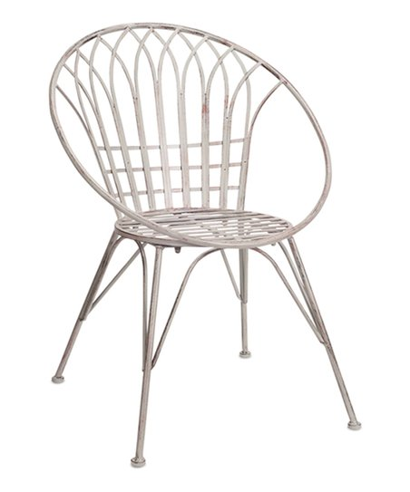 Love This Product White Iron Patio Chair Set Of Two