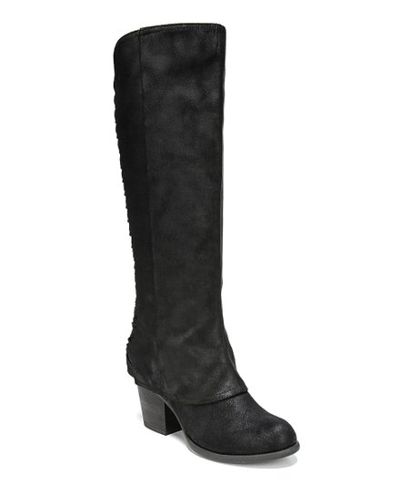 6409cbed4c6 Fergalicious by Fergie Black Tinley Wide-Calf Boot - Women