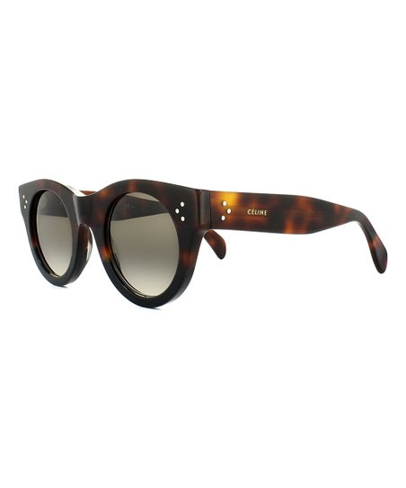 47f2596d041 Celine Havana Black   Brown Round Sunglasses