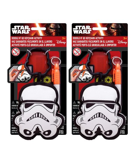 Tara Toy Corporation Star Wars Stormtrooper Doodle N Go Key Chain