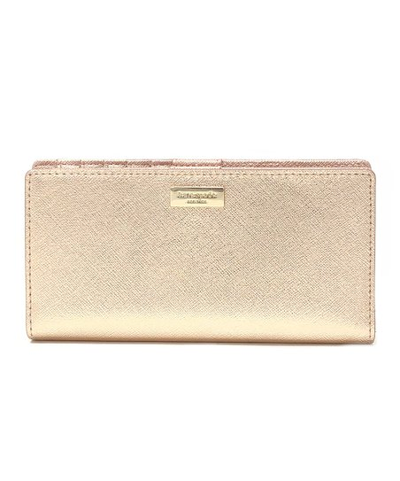 a9b0e03fafc love this product Rose Gold   14k Gold-Plated Laurel Way Stacy Wallet