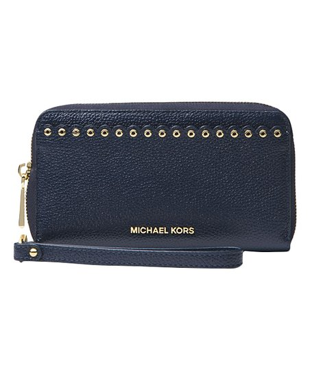 7a49c2348125 Michael Kors Admiral Scalloped Leather Cell Phone Case