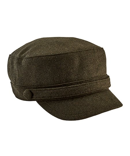 03995d2373f09 San Diego Hat Company Olive Button Cadet Cap | Zulily