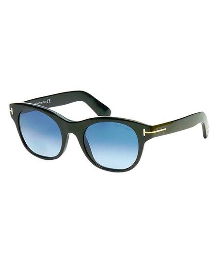 3cc7a0f219 Tom Ford Black Fisher Square Sunglasses