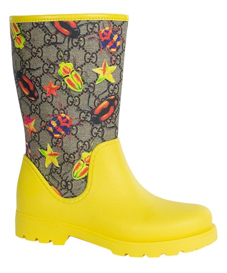 Gucci Yellow Rain Boot   Best Price and