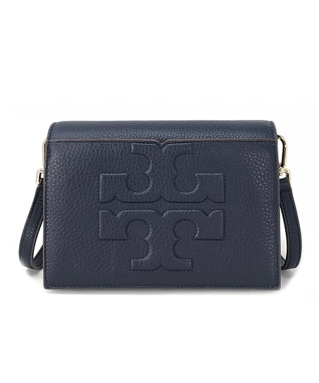 c31489780b2 love this product Tory Navy Bombe-T Combo Leather Crossbody Bag