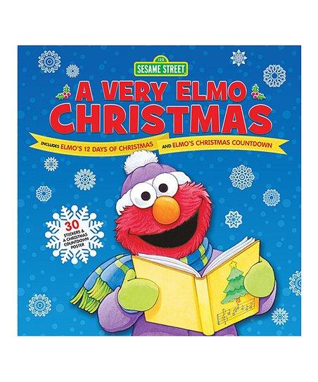 Elmos Christmas Countdown.Hachette Book Group Sesame Street A Very Elmo Christmas Hardcover