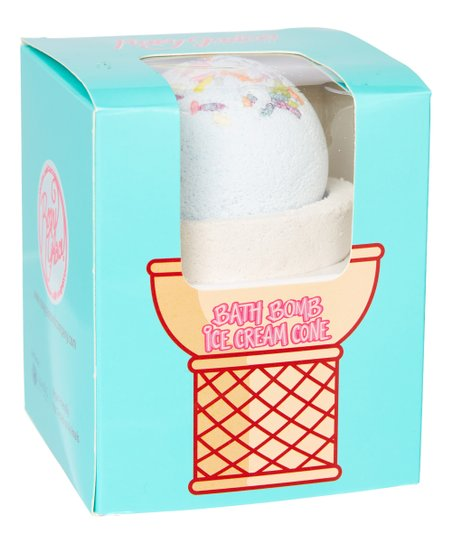 Birthday Cake Ice Cream Cone Bath Bomb