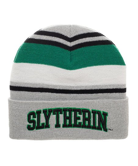 love this product Harry Potter  Slytherin  Stripe Beanie 8e1faa28344