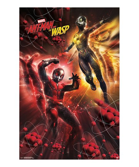 Trends International Ant Man And The Wasp Subatomic Poster Zulily