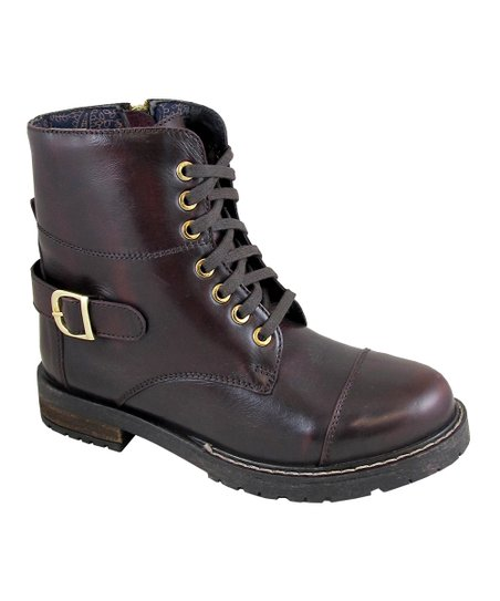 b6460b4cd38 Smoky Mountain Boots Burgundy Morgan Leather Boot - Women