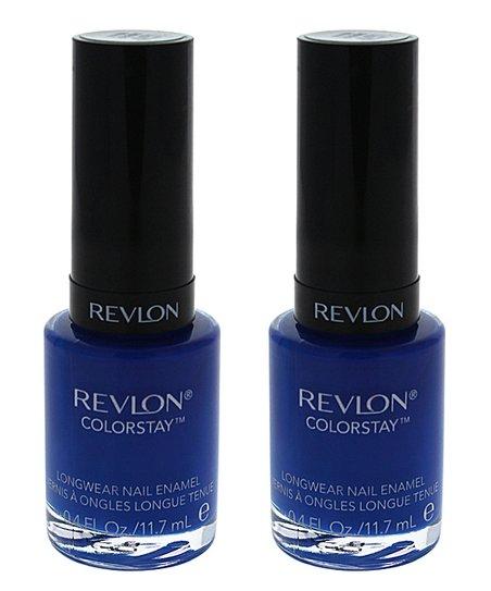 Revlon #180 Indigo Night ColorStay Longwear Nail Polish - Set of Two ...