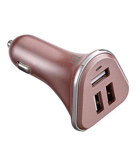 Love This Product Rose Gold Three Port Car Charger