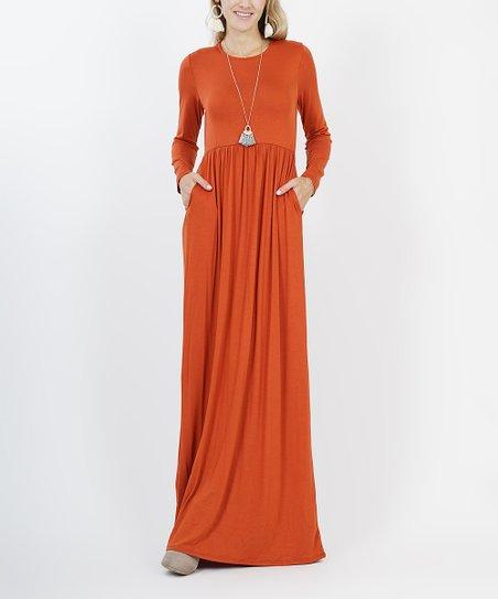 Copper Maxi Dress