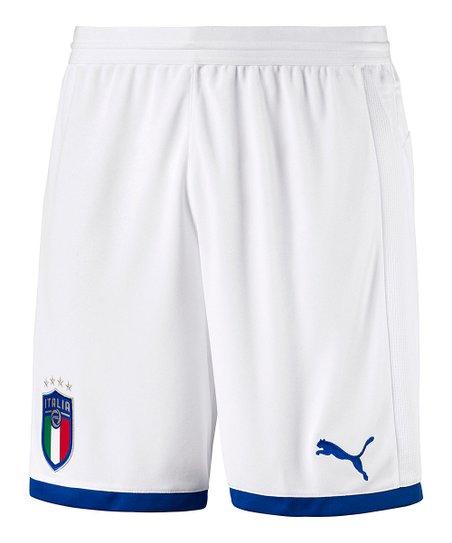 PUMA White FIGC Italia Replica Shorts - Men  606df858ef4ea
