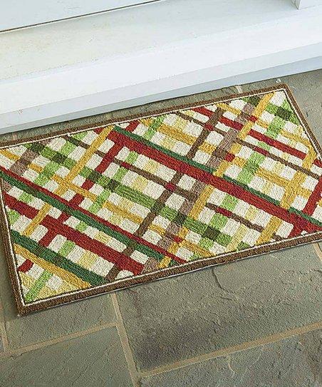 Plow Hearth Crisscross Indoor Outdoor Rug Zulily