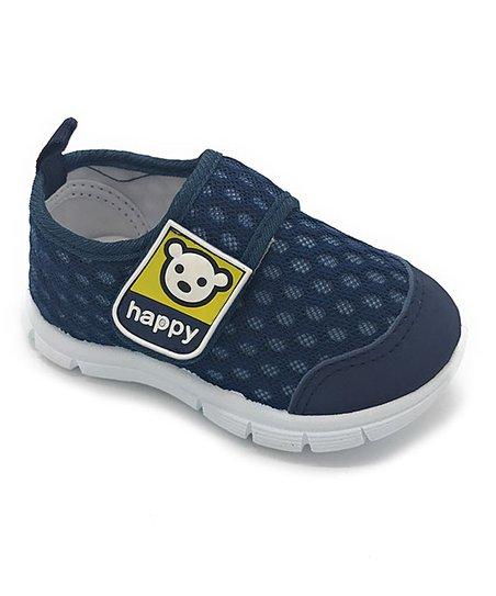 Little Star Navy Happy Sneaker - Boys