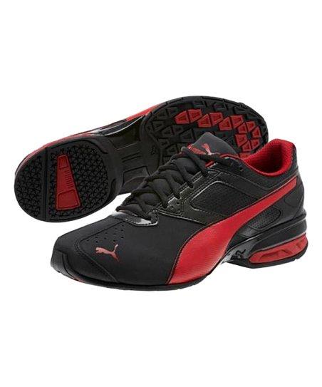 PUMA Black & Red Dahlia Tazon 6 FM Sneaker Men