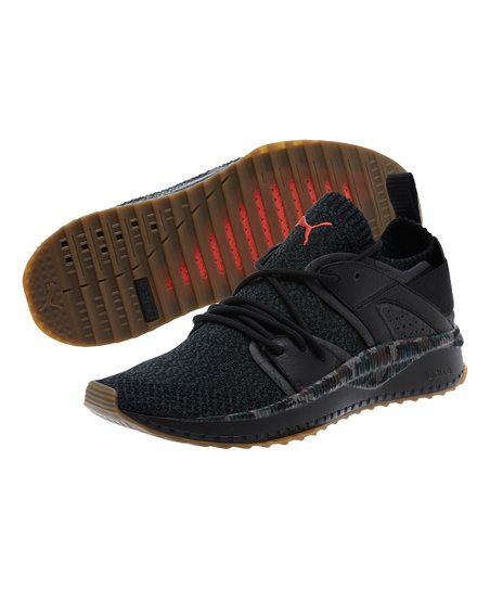 d4be9f4484d7c6 PUMA Black   Hot Coral Camouflage Tsugi Blaze Evoknit Sneaker - Men ...