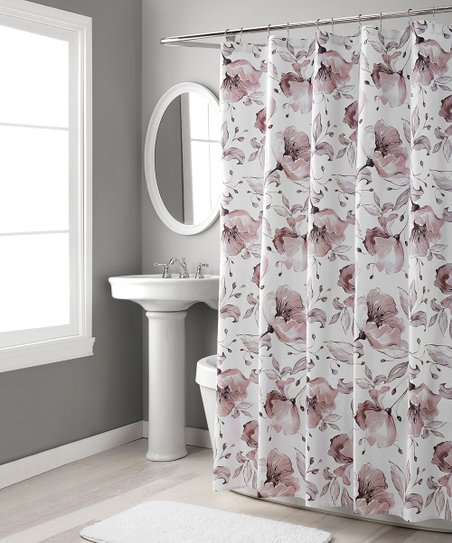 Blush Lily Shower Curtain