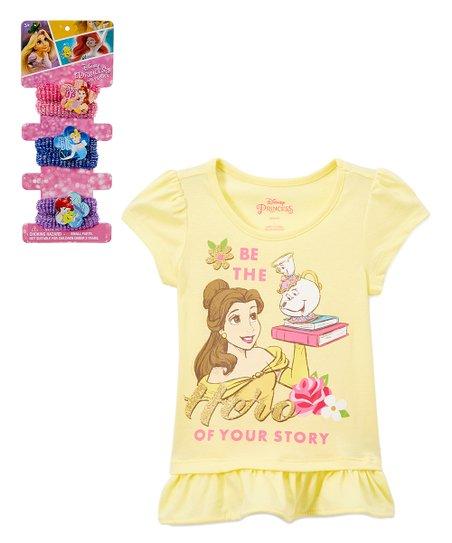1f61c2edd6f1 Childrens Apparel Network Disney Princess Belle Yellow Be the Hero ...