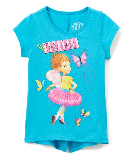 dc6bb870 Childrens Apparel Network Fancy Nancy Blue Très Chic Tee - Toddler ...