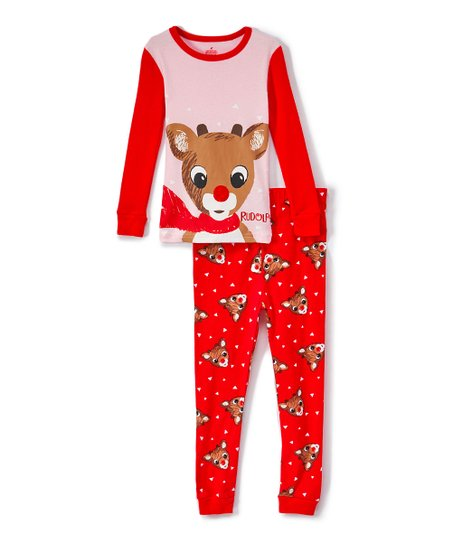 love this product Rudolph the Red-Nosed Reindeer Pink Pajama Set - Infant 6e833053a