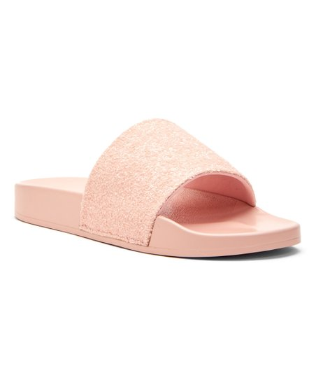 26c61c0351f1 Katy Perry Footwear Pink The Jimmi Chunky Glitter Slide - Women