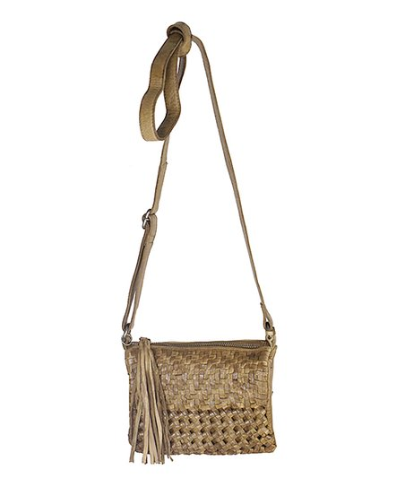 bc26ffcac8 Latico Leather Olive Tal Leather Crossbody Bag | Zulily