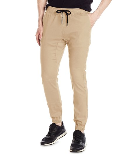 89f625490 love this product TWILL JOGGER PANTS - Men