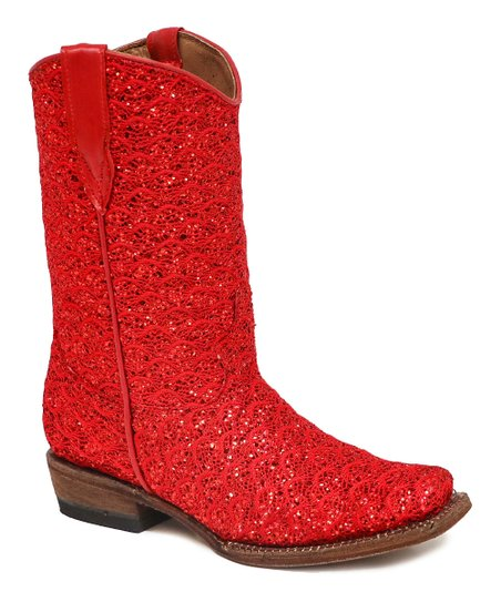 red sparkly cowboy boots \u003e Up to 79