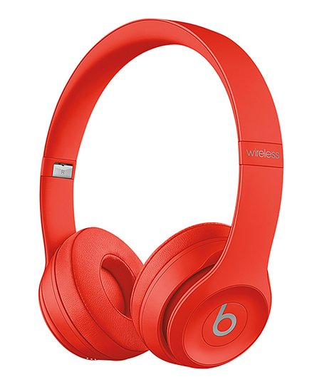 love this product Refurbished Red Beats Solo3 Wireless Headphones e3ed31822
