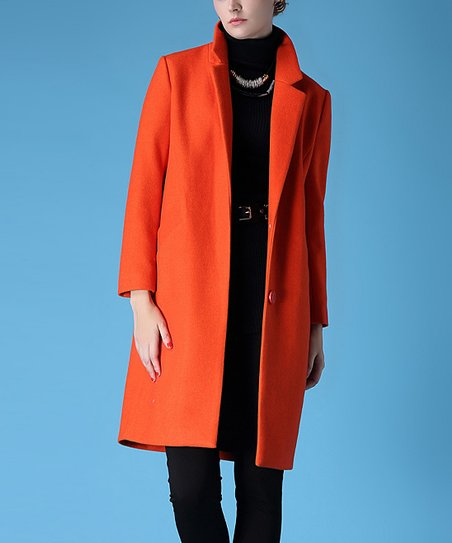 "Attēlu rezultāti vaicājumam ""orange women coat"""