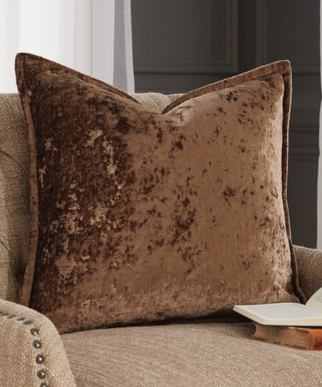 Love This Product Toffee Melaney Velvet Throw Pillow