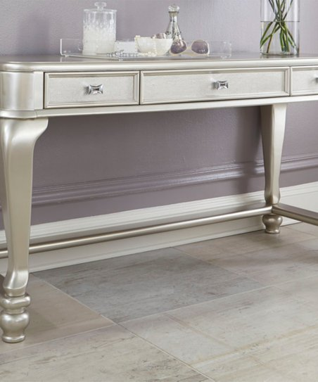 Love This Product Silver Finish Cayne Vanity Table