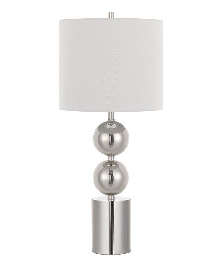 Love This Product Brushed Steel U0026 White Lucena 3 Way Table Lamp