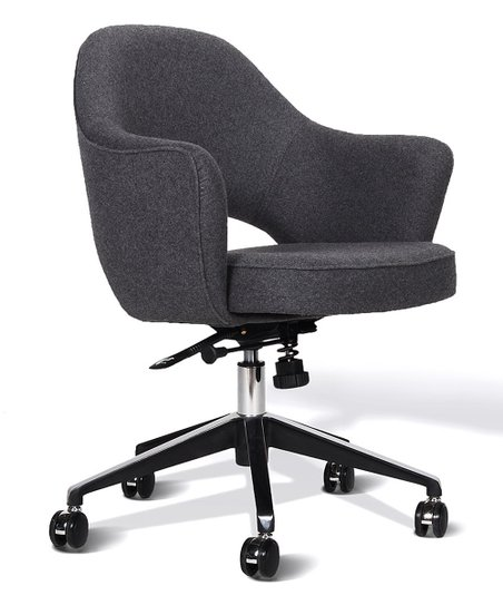 Control Brand Gray Plush Office Chair Best Price And Reviews Zulily