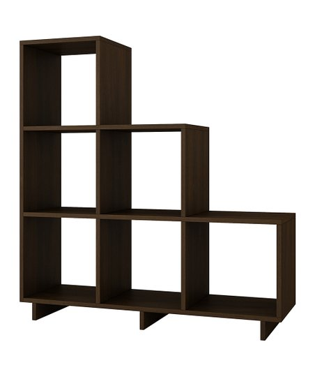 Love This Product Tobacco Finish Cascavel Six Cubby Wall Storage Unit