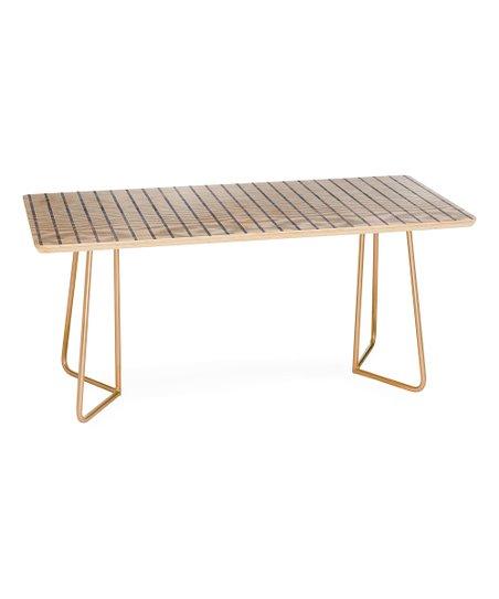 Miraculous Deny Designs Holli Zollinger Wide Aegean Stripe Coffee Table Machost Co Dining Chair Design Ideas Machostcouk