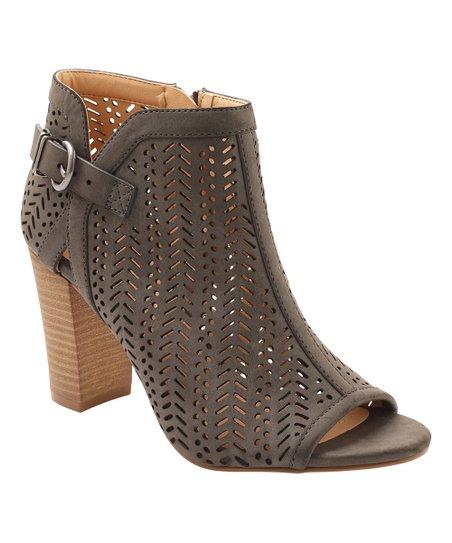 a50a8e53a42d XOXO Gray Birkita Ankle Boot - Women