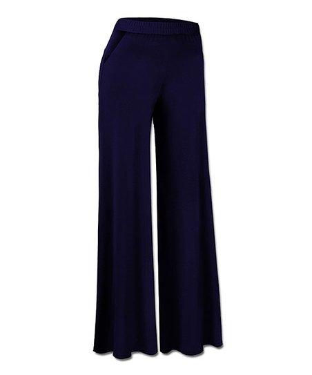 fd28d3d0a1 love this product Navy Wide-Leg Pants - Women