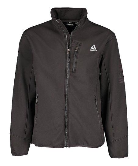 0ffb265245fd49 Reebok Black Funnel Collar Jacket - Men