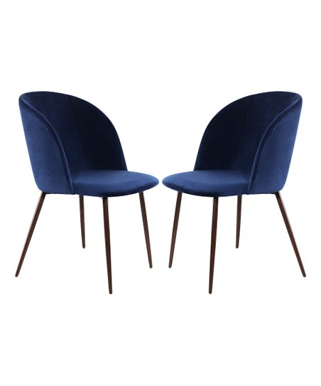 EdgeMod Space Blue Kantwell Dining Chair - Set of Two  544ec7ea4