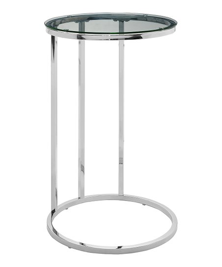 Walker Edison Round Gl C Table