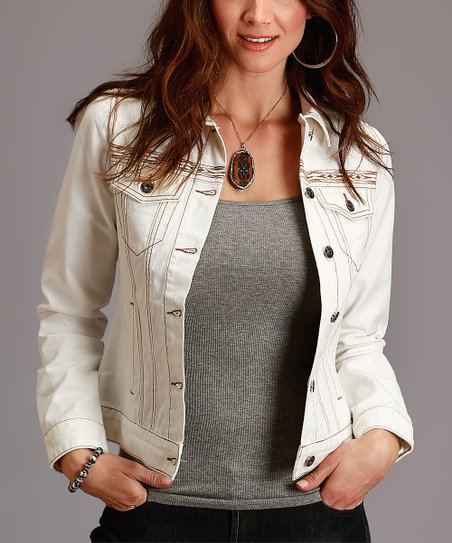 8101ed147c8 love this product Off-White Denim Jacket - Women