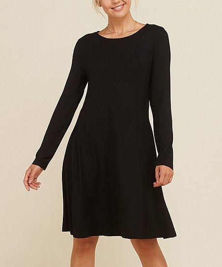 Annabelle USA Black Swing Dress - Women  e9d91d7874