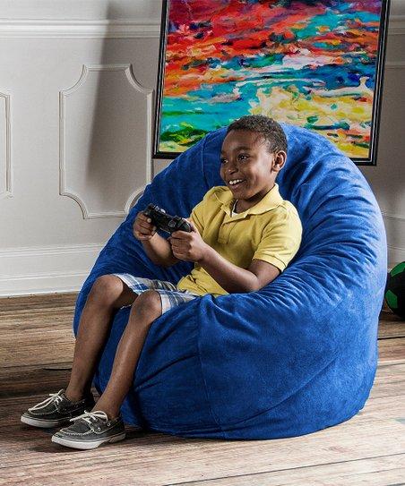 Pleasing Blueberry Cocoon Jr Bean Bag Unemploymentrelief Wooden Chair Designs For Living Room Unemploymentrelieforg