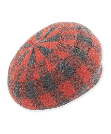 18c40e4f9bdbc love this product Red Plaid Wool Beret