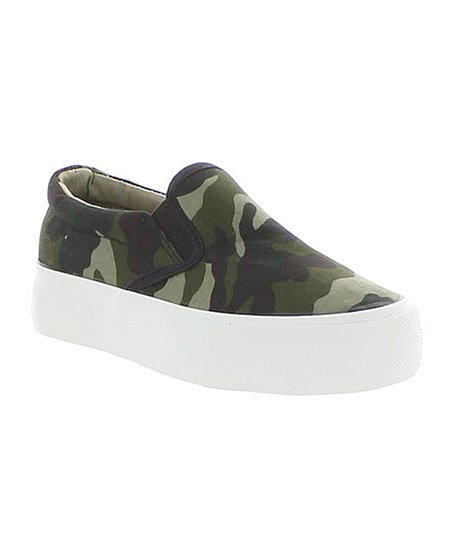 Restricted Army Camo Vcam Slip-On